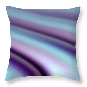 Abstract Hues Throw Pillow