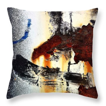 Abstract Post 2 Throw Pillow