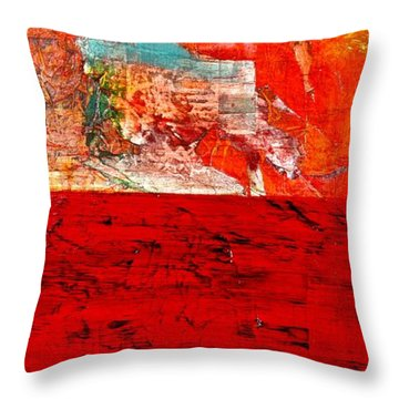 Abstract Landscape I Throw Pillow