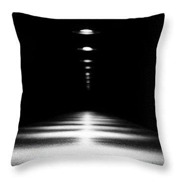 Abstract Light Throw Pillow by Scott Pellegrin