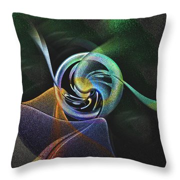 Abstract Llv Throw Pillow by Tyler Robbins