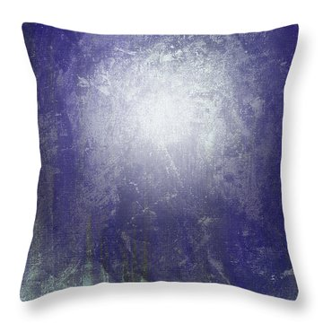Abstract  Moonlight Throw Pillow by Filippo B