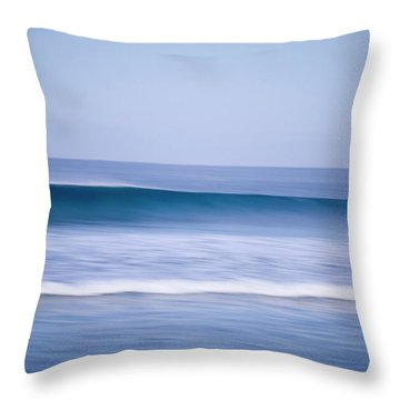 Abstract Motion Blur Of A Breaking Throw Pillow