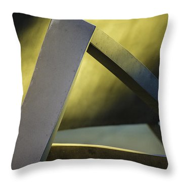 Abstract No.2 Throw Pillow by Raymond Kunst