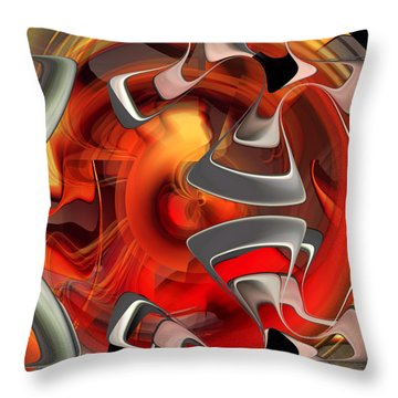 Abstract Number 009  Throw Pillow