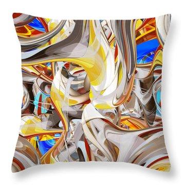 Carousel - 018 Throw Pillow