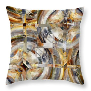 Balanced - 031 Throw Pillow by rd Erickson