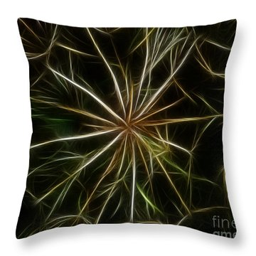Abstract Of Nature 2 Throw Pillow by Vivian Christopher