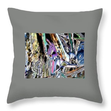 Abstract On Dream  Throw Pillow by Basant Soni