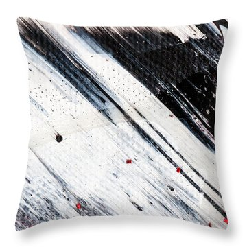 Abstract Original Artwork One Hundred Phoenixes Untitled Number Eight Throw Pillow