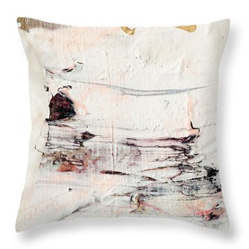 Abstract Original Painting Number Eleven Throw Pillow