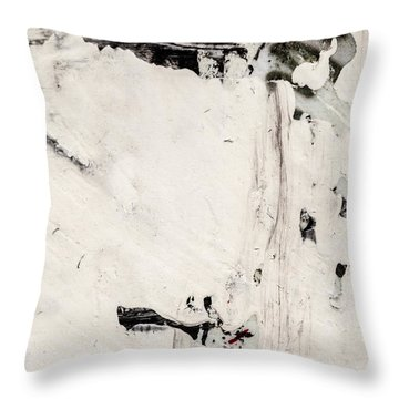 Abstract Original Painting Number Four Throw Pillow