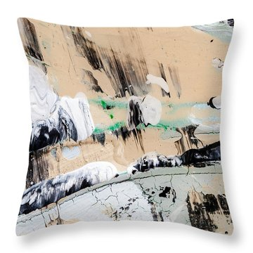 Abstract Original Painting Number Seven  Throw Pillow