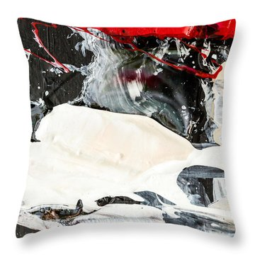 Abstract Original Painting Number Three Throw Pillow