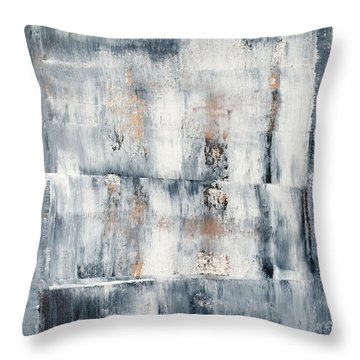 Abstract Painting No. 1 Throw Pillow by Julie Niemela