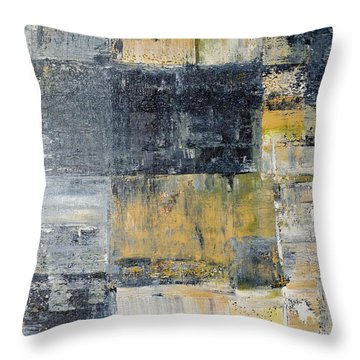 Abstract Painting No. 4 Throw Pillow