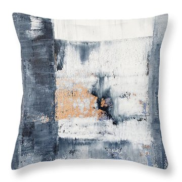 Abstract Painting No.5 Throw Pillow by Julie Niemela