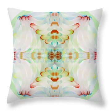 The Web Throw Pillow