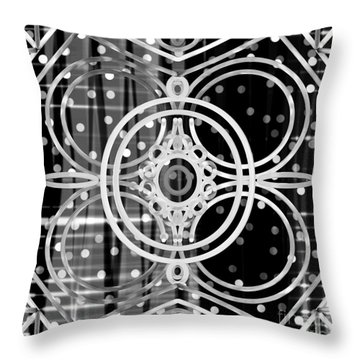 Abstract Patterns Throw Pillow
