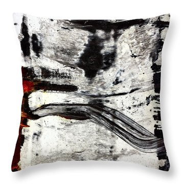 Abstract Post 3 Throw Pillow