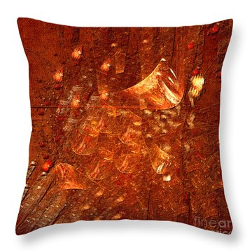 Abstract Power Throw Pillow