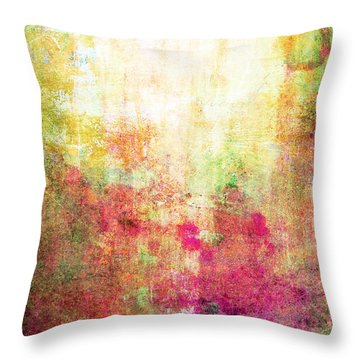 Abstract Print 14 Throw Pillow by Filippo B