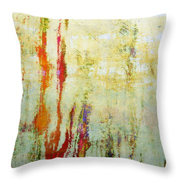 Abstract Print 17 Throw Pillow by Filippo B