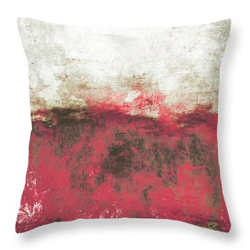 Abstract Print 21 Throw Pillow by Filippo B