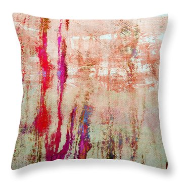 Abstract Print 22 Throw Pillow by Filippo B