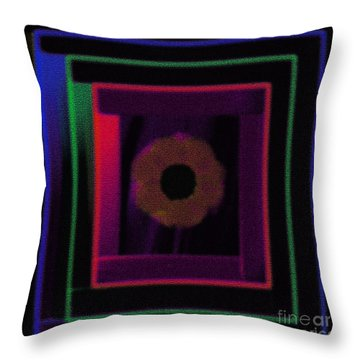 Abstract Rectangular Design-4 Throw Pillow