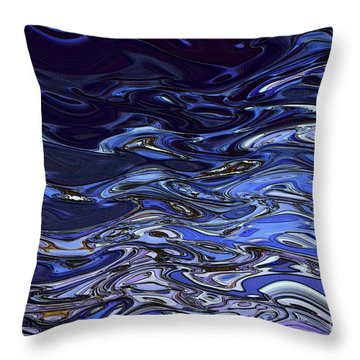 Abstract Reflections - Digital Art #2 Throw Pillow