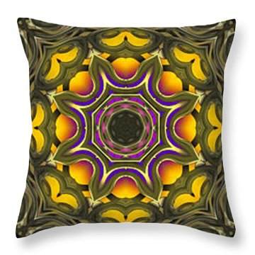Abstract Rhythm - 38 Throw Pillow by Hanza Turgul