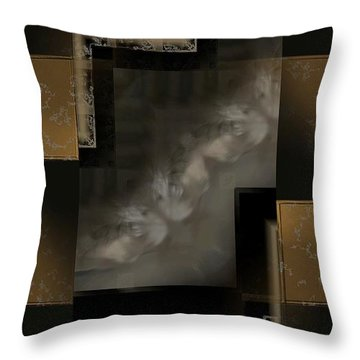 Abstract S-u-2 Throw Pillow