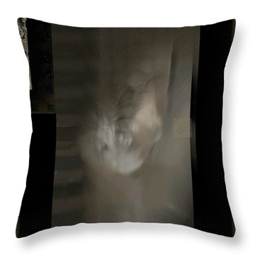Abstract S-u-s Throw Pillow