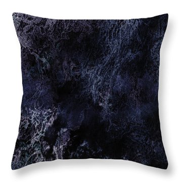 Abstract Scenery No.6 - Nightmare Throw Pillow by Wolfgang Schweizer
