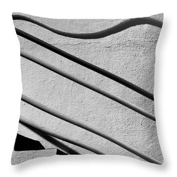Abstract Stairs Throw Pillow