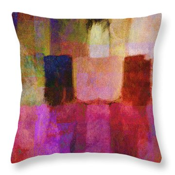 Abstract Study Two Throw Pillow by Ann Powell