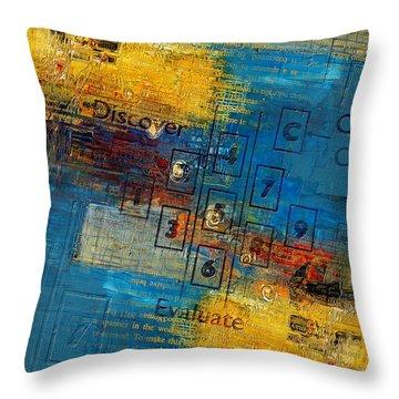Abstract Tarot Art 016 Throw Pillow by Corporate Art Task Force