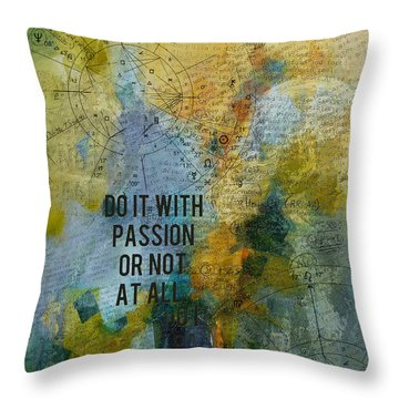 Abstract Tarot Art 020 Throw Pillow by Corporate Art Task Force