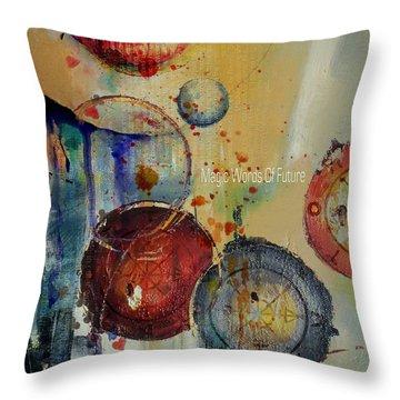 Abstract Tarot Art 021 Throw Pillow by Corporate Art Task Force