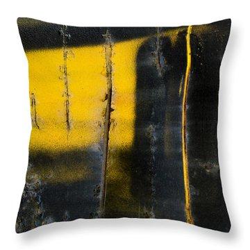 Abstract Train Art Throw Pillow