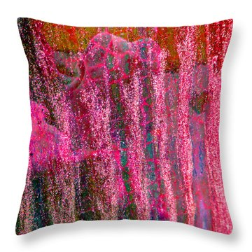 Abstract Vibe Throw Pillow