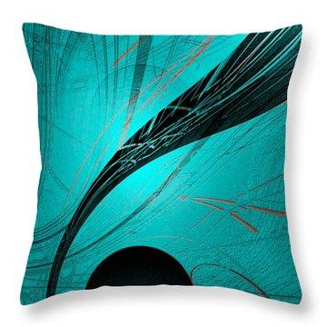 Abstract170-2014 Throw Pillow by John Krakora
