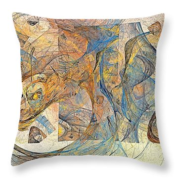 Abstraction 0499 Marucii Throw Pillow
