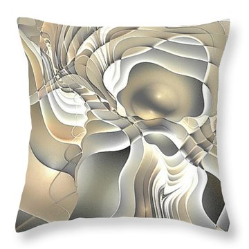 Abstraction 234-03-13- Marucii  Throw Pillow