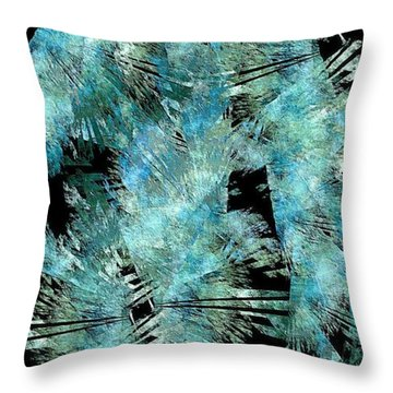 Abstraction 432-08-13 Marucii Throw Pillow