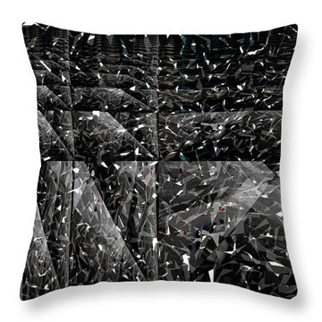 Abstraction Throw Pillow by Bobbie Barth