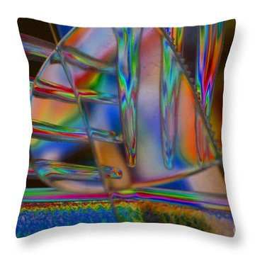 Abstraction In Color 1 Throw Pillow