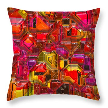 Abstractions... Throw Pillow