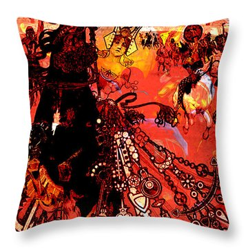 Abstracto Presto Throw Pillow